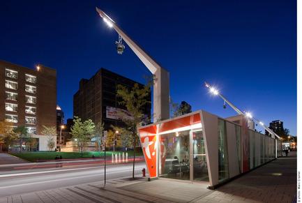 Press kit | 809-10 - Press release | Azure magazine announces the winners of it's 3rd annual AZ Awards - Azure Magazine - Competition - Architecture - Commercial &lt; 1000<br><br>Vitrines Habitees<br>by Quartier des Spectacles Daoust Lestage