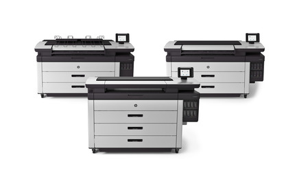 Press kit | 2171-01 - Press release | HP PageWide XL and DesignJet Printers Win Coveted Red Dot Design Awards - HP Inc. - Product - HP PageWide XL Portfolio - Photo credit: HP Inc.
