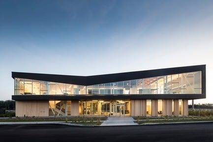 Press kit - Press release - Lemay Wins 2017 American Architecture Prize for Design of Pomerleau Offices - Lemay