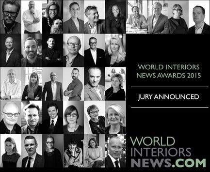 Press kit - Press release - World Interiors News Awards 2015 jury announced - World Interiors News