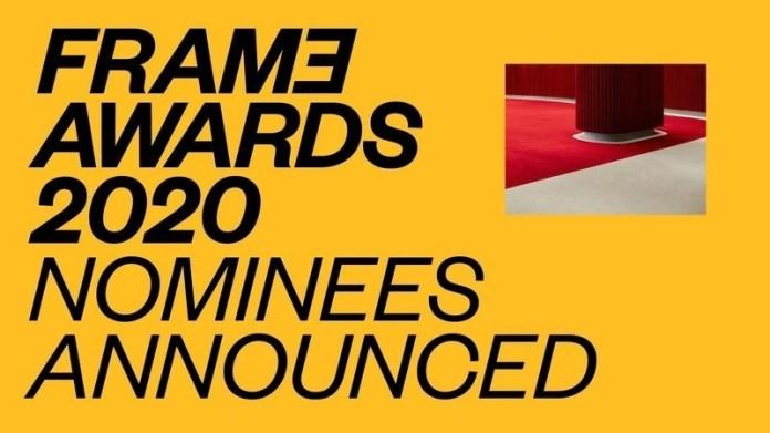 Press kit - Press release - Frame Awards 2020 Nominees Announced - Frame