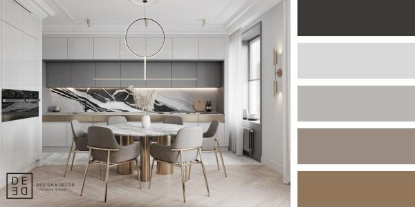 DE&DE – Eclecticism in Saint-Petersburg – Kitchen