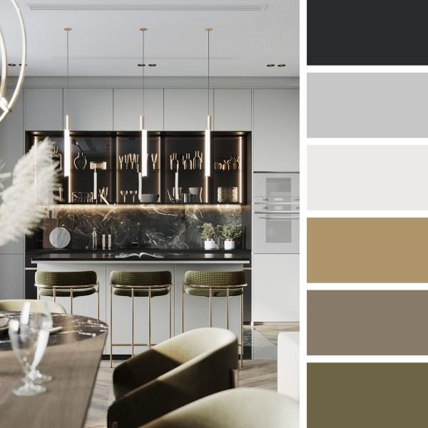 Moscow Apartment – Kitchen