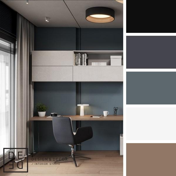 DE&DE Concrete Vibes – Work Area
