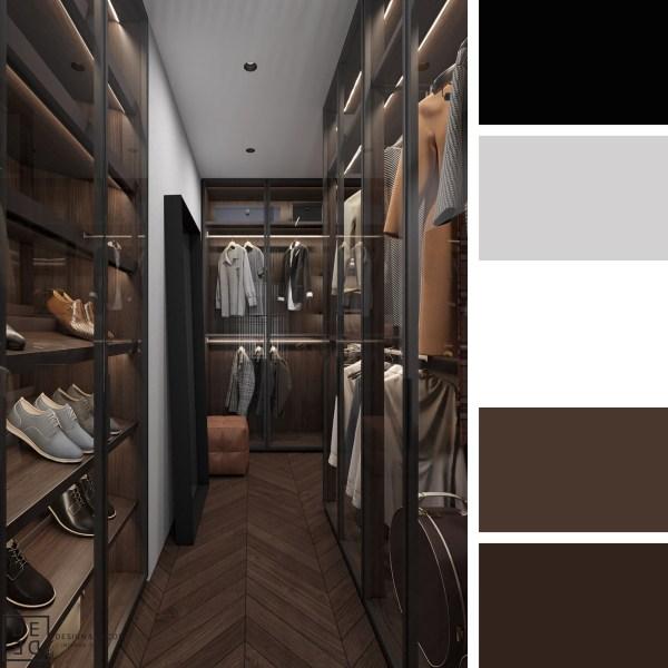 DE&DE Apartment with Soft Accents – Closet