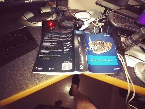 Mastering SolidWorks Book Has Arrived!  