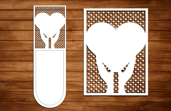 Laser Cut Heart Cut File Free SVG Vector