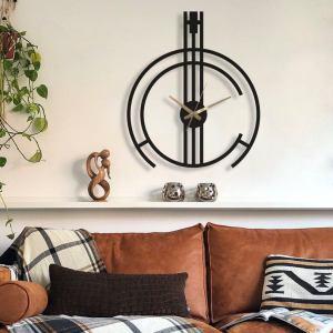 Minimalist Oversize Wall Clock, Large Wall Clock, Modern Wall Clock