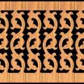 Decorative Baluster Railing 34 Pattern PDF File