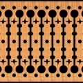 Decorative Baluster Railing 44 Pattern PDF File