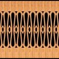 Decorative Baluster Railing 46 Pattern PDF File