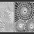 Decorative Screen Panel 05 CDR DXF Laser Cut Free Vector