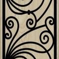 Decorative Slotted Panel 101 Pattern PDF File