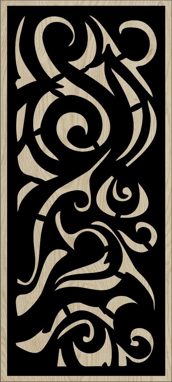 Decorative Slotted Panel 135 Pattern PDF File