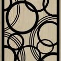 Decorative Slotted Panel 153 Pattern PDF File