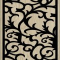 Decorative Slotted Panel 176 Pattern PDF File