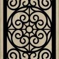 Decorative Slotted Panel 33 Pattern PDF File