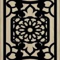 Decorative Slotted Panel 42 Pattern PDF File