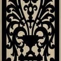 Decorative Slotted Panel 44 Pattern PDF File