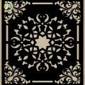 Decorative Slotted Panel 451 Pattern PDF File
