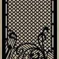 Decorative Slotted Panel 573 Pattern PDF File