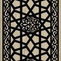 Decorative Slotted Panel 58 Pattern PDF File