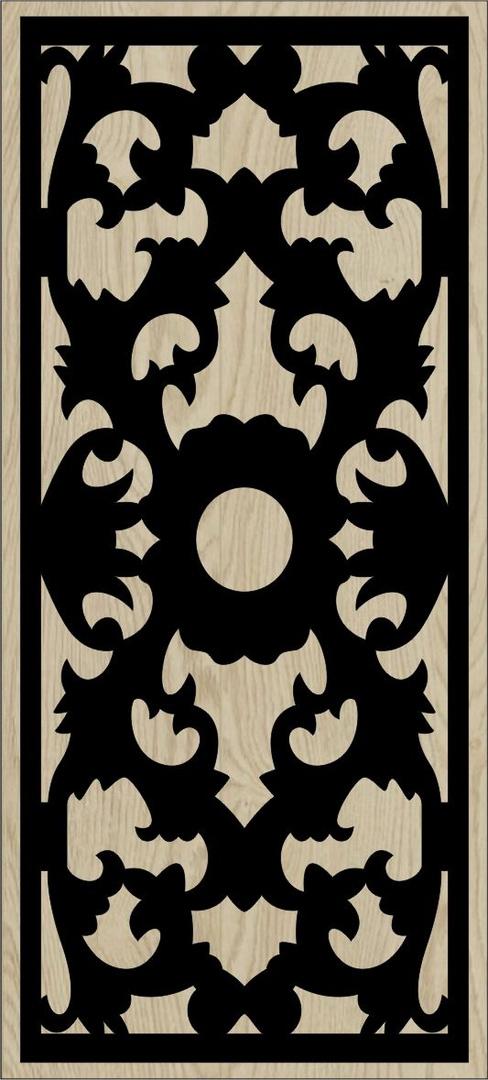 Decorative Slotted Panel 70 Pattern PDF File