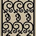 Decorative Slotted Panel 83 Pattern PDF File