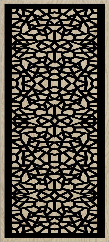 Decorative Slotted Panel 91 Pattern PDF File