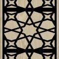 Decorative Slotted Panel 19 Pattern PDF File