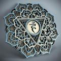 Laser Cut Vishuddha Chakras Mandala DXF CDR SVG EPS AI