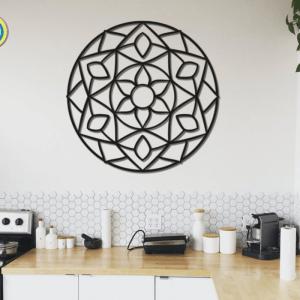 Mandala Flourishing Metal Wall Art Home Decor Gift Mandala