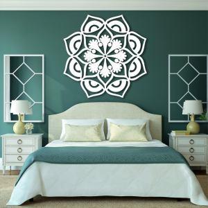 Mandala Flower Metal Art - Mandala Metal Art