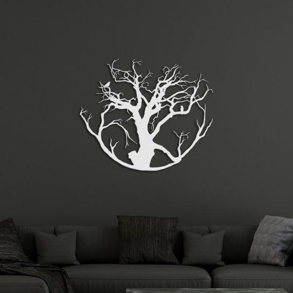 Metal Wall Decor, Tree of Life Decor, Metal Wall Art
