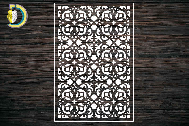 Decorative Screen Panel 139 CDR DXF Laser Cut Free Vector