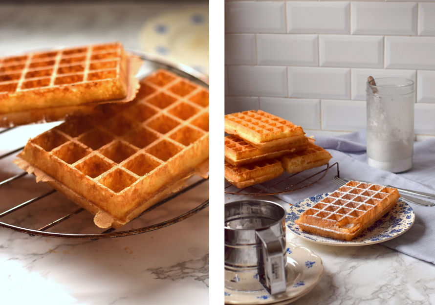brusselse wafels recept