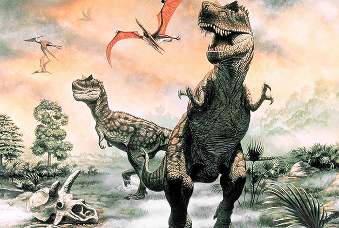 Dinozaurii au disparut din cauza gravitatiei