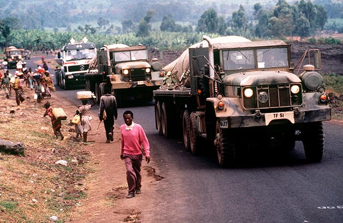 Salvați de extratereștri în timpul ginocidului din Ruanda