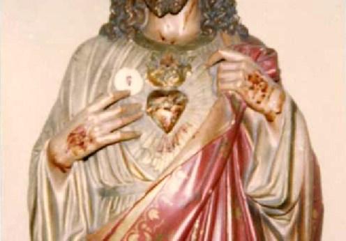 Statuia lui Iisus a sângerat în Pennsylvania