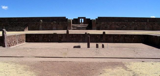 Tiwanaku, cel mai vechi oraş din lume - Templul semi-subteran