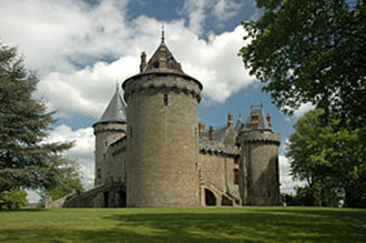 Fenomene paranormale la castelul din Combourgd