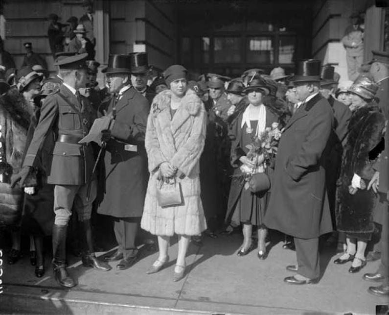 Regina Maria şi vizita sa în SUA (4)