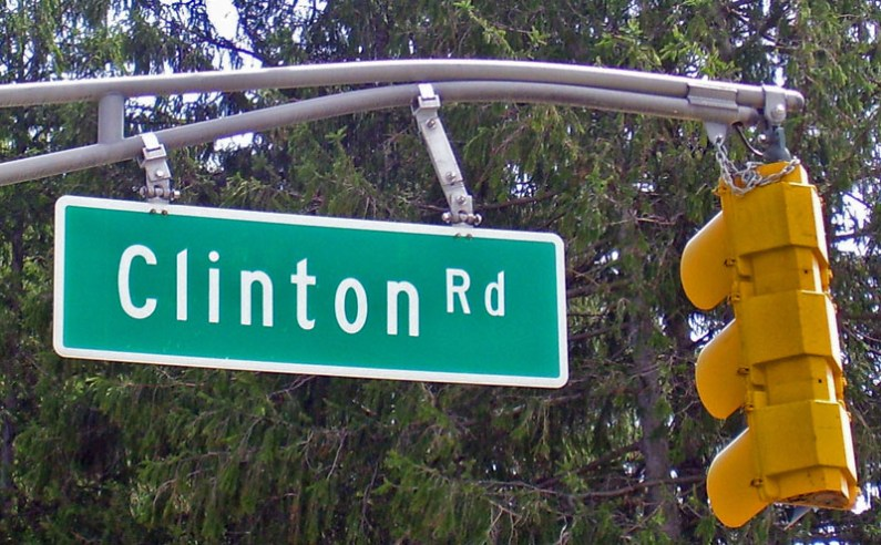Clinton Road, foto de Daniel Case, sursa Wikipedia