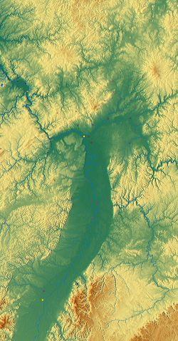 Topografia campiilor Decumate. Autor: Moutschen Jean-Philippe, sursa Wikipedia.