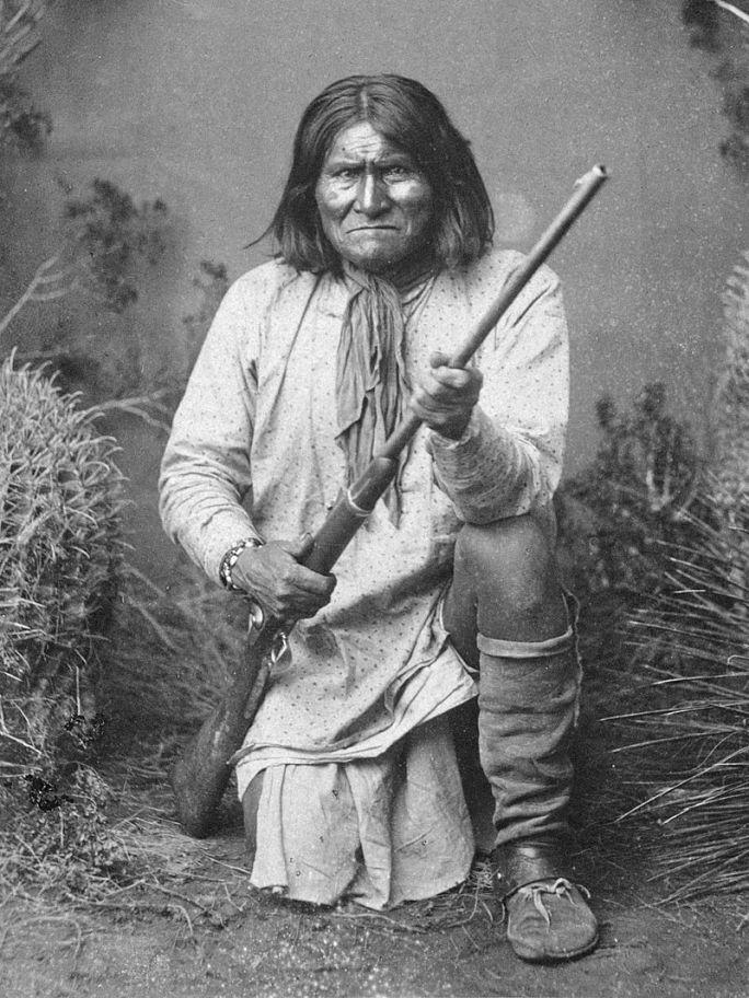 Geronimo. Autor foto Ben Wittick, sursa Wikipedia.