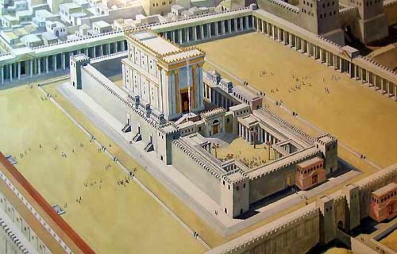 Templul lui Solomon, autor Israel Truths, sursă Wikipedia.