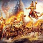 O explozie atomică în Mahabharata?