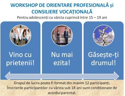 Workshop orientare profesionala