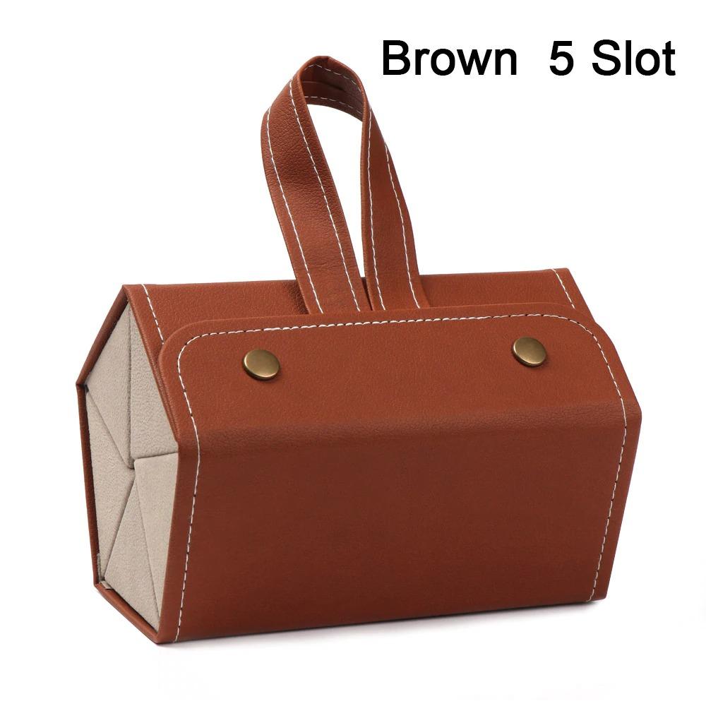5 Slot brown