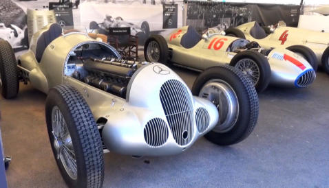 Shmee150 und Mercedes-Benz beim Goodwood Competition of Pace 2018.